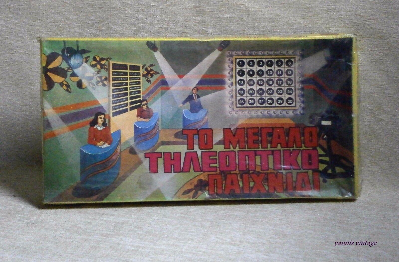 suministro de productos de calidad  para Megalo Megalo Megalo paihnidi  Y en Caja Sellada Juego De Mesa Grecia katsaropoulos años 70 griego show de TV  marcas de diseñadores baratos