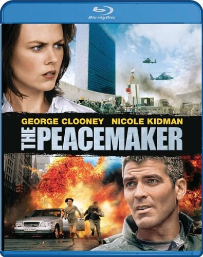 THE PEACEMAKER (George Clooney) -  Blu Ray - Sealed Region free