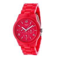 Guess Damen Quarzuhr Model Rosa W11603l4 Wasserdicht 5atm Kunststoff-armband