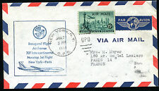 1960 - AIR FRANCE - Volo Inaugurale NEW YORK - PARIGI - 707 Intercontinental