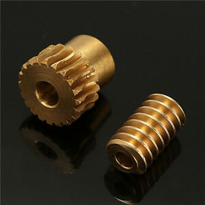 0-5-Modulus-Reduction-Ratio-of-1-10-Motor-Output-Copper-Worm-Wheel-Gear