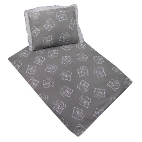 remplissage * 4 Pièces linge de lit ensemble pour poussette U Coussin etc Salon * Couverture