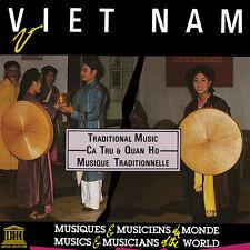 Various Artists - Vietnam: Ca Tru & Quan Ho-Traditional [New CD]