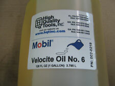 1 GAL OF MOBIL VELOCITE SPINDLE OIL #6 for BRIDGEPORT MILL & HARDINGE LATHE