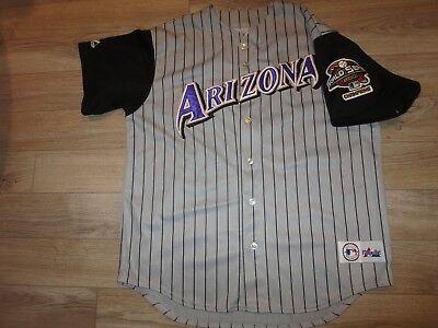 Streng Luis Gonzalez #20 Arizona Diamondbacks 2001 Mlb World Series Majestätisch Trikot Fanartikel Baseball & Softball