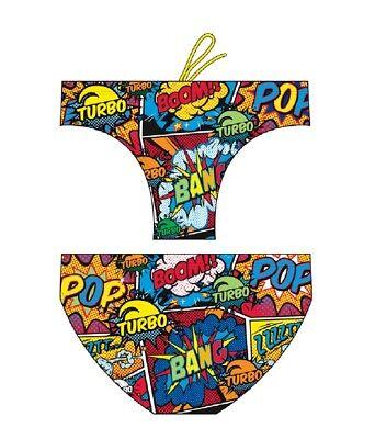 Di Carattere Dolce Costume Slip Turbo Mare Uomo - Comic Boom - Rosso Giallo - 730415 Vendita Calda Di Prodotti
