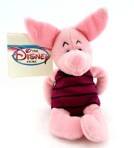 Piglet-Disney-bean-bag-Pooh-Pig-NWT