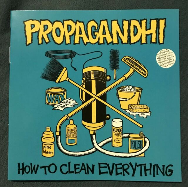 Propagandhi – How To Clean Everything (FAT 506-2)