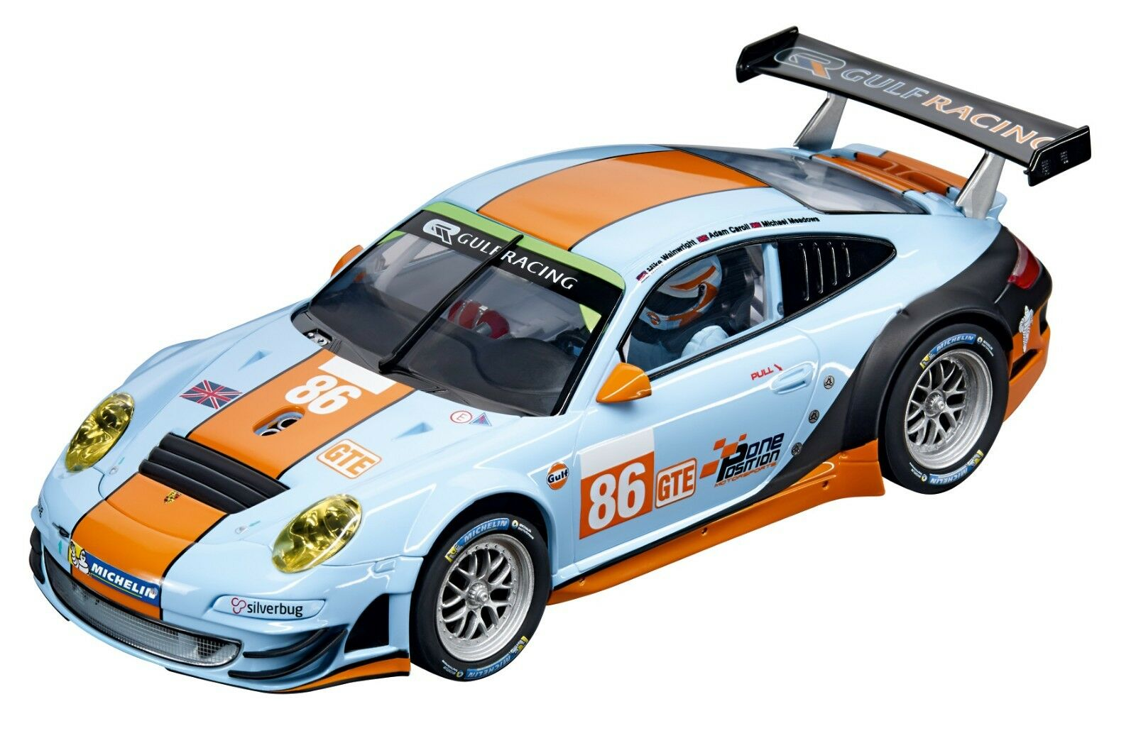 Top Tuning Carrera Digital 124 - Porsche Gt3 Rsr   Gulf Racing   like 23810