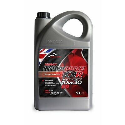 Kerax HyperDrive KXR Fully Synthetic 10W30 Engine Oil E9 FE 5 Litre 5L