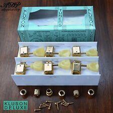 MECANIQUES VINTAGE KLUSON TULIPES GIBSON LP SG 3+3 GOLD Keystone Tuners  MC33G