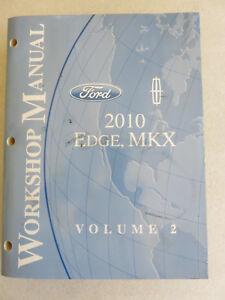 ford edge manual 2010