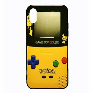 new products 14df5 c7fe8 Details about Pokemon Gameboy iPhone X XS XS Max XR Case Pikachu Nintendo