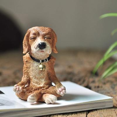 Yoga Figurine Statue For Home Garden Woman Pose Sculpture Meditating Miniature