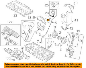 details about volvo oem 08 13 c30 engine parts filler pipe o ring 8692870 volvo c30 engine bay diagram c30 engine diagram #2