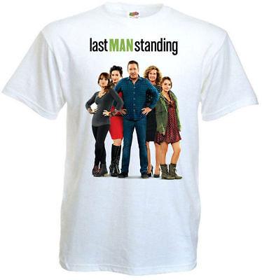Last Man Standing v.4 Movie Poster T shirt light blue all sizes S-5XL