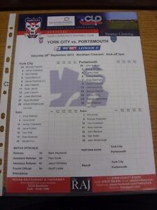 28-09-2013-Colour-Teamsheet-York-City-v-Portsmouth-Thanks-for-viewing-our-it