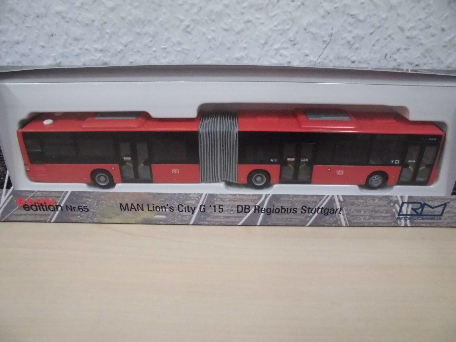 Rietze Gelenkbus MAN Lion´s City GL ´ 15 regiobus Hannover 74102