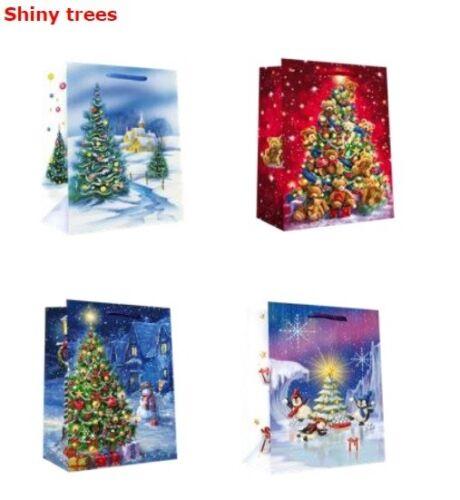 96x mittel Weihnachtstüten Geschenktüten Weihnachten Geschentaschen B2