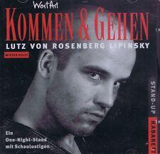HÖRBUCH-CD NEU/OVP - Lutz von Rosenberg Lipinsky - Kommen & Gehen