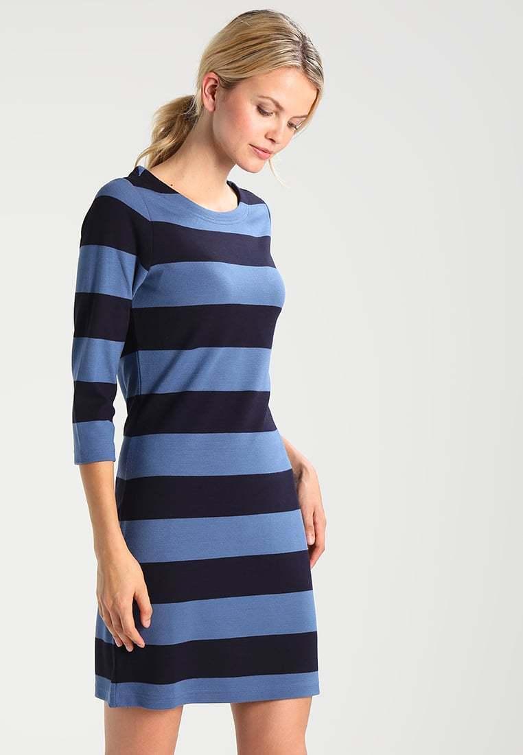 GANT SAILOR - Jersey dress - bluee denim DEFECT DEFECT