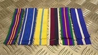 Genuine British Military Issue Medal Ribbons Various Campaigns / Service