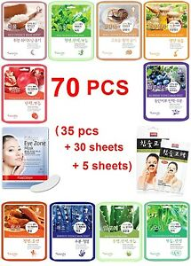 70pcs-Natureby-Korean-Essence-Facial-Sheet-mask-Moisture-Eye-Mask-Nose-Pack-Set
