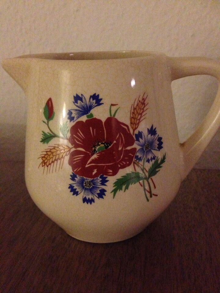 Keramik, Gammel kande, Blomst