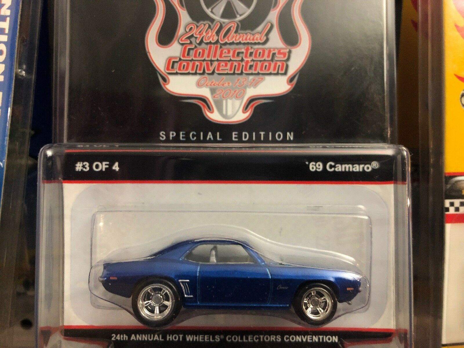 2010 Hot Wheels 24TH ANNUAL COLLECTORS CONVENTION 69 CHEVY CAMARO Low 00168 2400