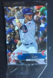 Details About 2017 Topps National Baseball Card Day Pack Kris Bryant Top Random Auto Mint