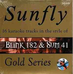Sunfly-Karaoke-Gold-SFGD035-Blink-182-Sum-41