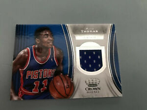 2018-19-Panini-Crown-Royale-Basketball-Isiah-Thomas-Patch-Card