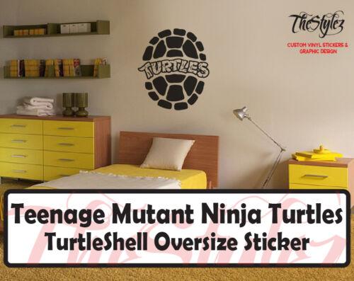 Teenage Mutant Ninja Turtles Shell Wall Vinyl Sticker