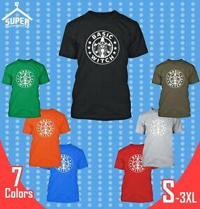 Basic-Sorciere-Homme-T-Shirt-Halloween-Design-Funny-Boo-Sorciere-tee-shirts