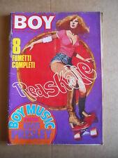 BOY MUSIC n°15 1978 Tina Turner Amanda Lear Sabina Ciuffini  [G534B]