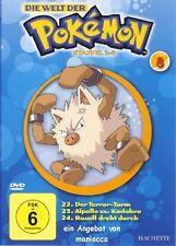 DIE WELT DER POKEMON 8   1. Staffel / 22-24    DVD #ZZ   Pokémon