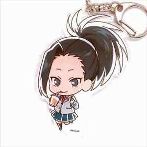 Details About My Hero Academia Collab Cafe Limited Chara Dri Acrylic Key Chain Momo Yaoyorozu