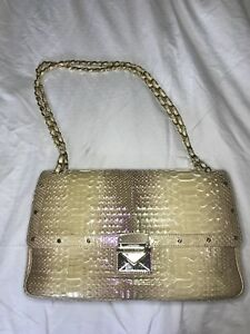 a9a3c6b194 Image is loading Gianni-Versace-Python-shoulder-Bag
