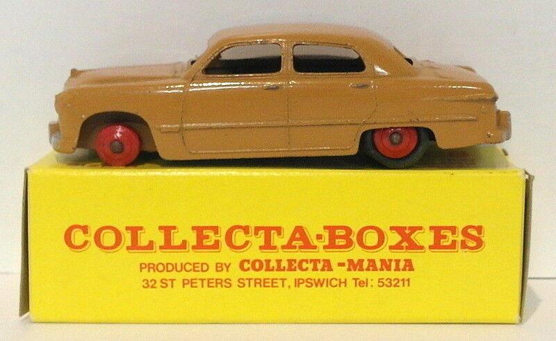 online barato Vintage Dinky 139A 139A 139A - Ford Forder Sedan - Marrón - In Collectabox  vendiendo bien en todo el mundo