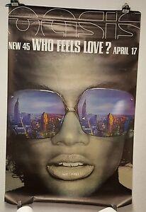 Oasis-Huge-poster-Advertising-Billboard-1-x-1-5-M-034-Who-feels-love-034