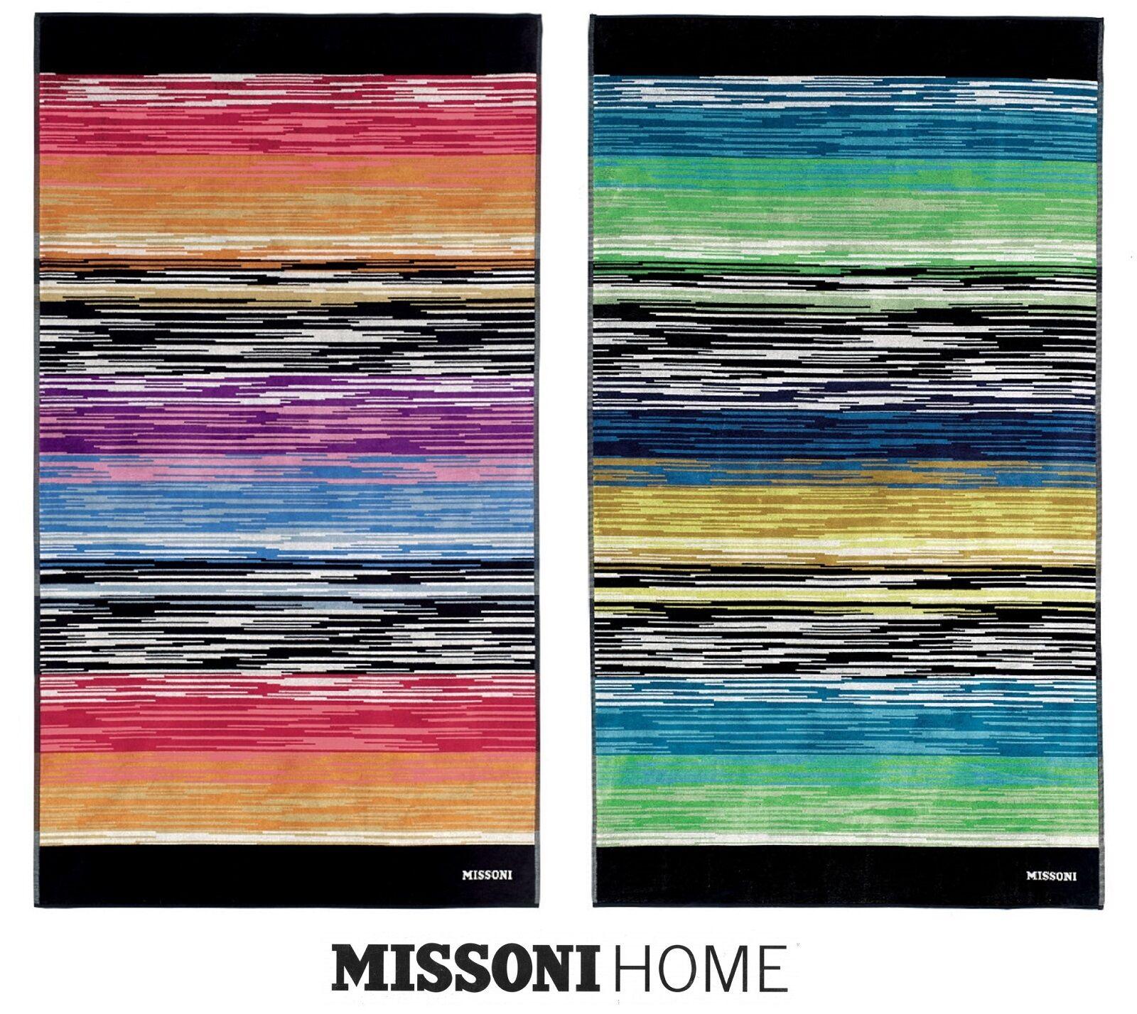 Telo mare Spugna 100 x 180 in Cotone 100%. MISSONI HOME - STANLEY 1S3SP99803.