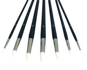 7-Stueck-feine-Rund-Pinsel-repino-20023-Pinselset-Kuenstlerpinsel-Set