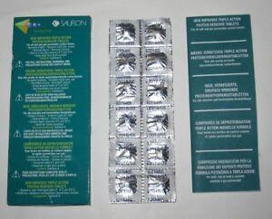 Kontaktlinsenpflege Sauflon Trizyme Proteinentfernungstabletten Protein Remover 3x12 Tabletten = 36 Buy One Give One