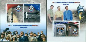 APOLLO-11-SPACE-50TH-ANNIVERSARY-MOON-LANDING-NASA-ARMSTRONG-MNH-STAMPS-SET