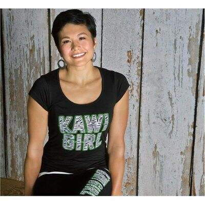 Kawi Girl™ Stud Tee Kawasaki K016-2521-BK
