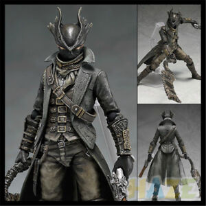 Game-Figma-367-Hunter-Bloodborne-Action-Figure-PVC-Toy-New-In-Box-15cm