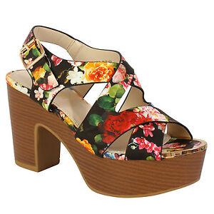 5edd5d50 New Women's Ladies Mid Low Wedge Heels Sandals Open Peep Toe ...