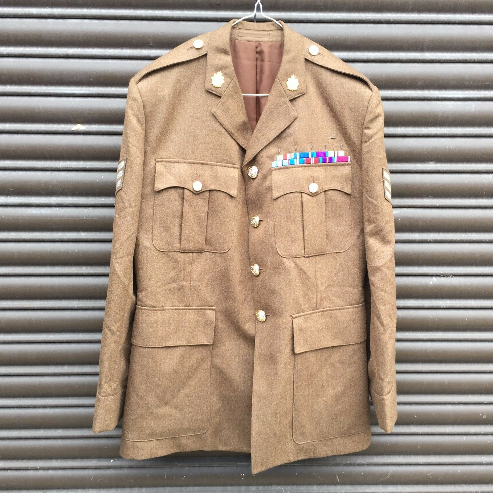 UK BRITISH ARMY SURPLUS ROYAL LOGISTICS CORPS No.2 FAD UNIFORM TUNIC,RLC RGT REG