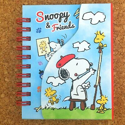 Snoopy Peanuts Mini Memo Pad Notepad Cute Kawaii Stationery Japan Japanese