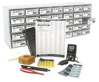 190 Pc Watch Battery Batteries Starter Kit Set W/ Cabinet + Tools + Bonuses